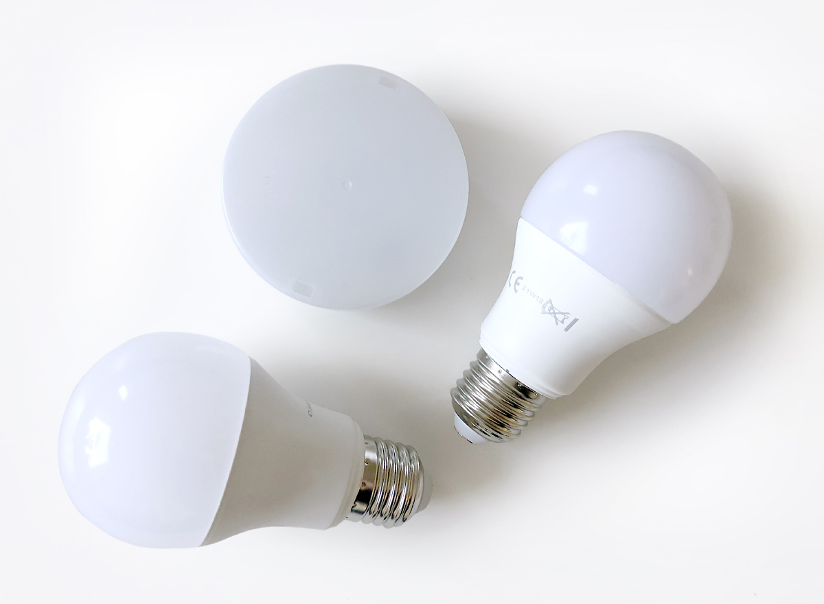 Most Secto Design lamps use LED bulbs as a light source.