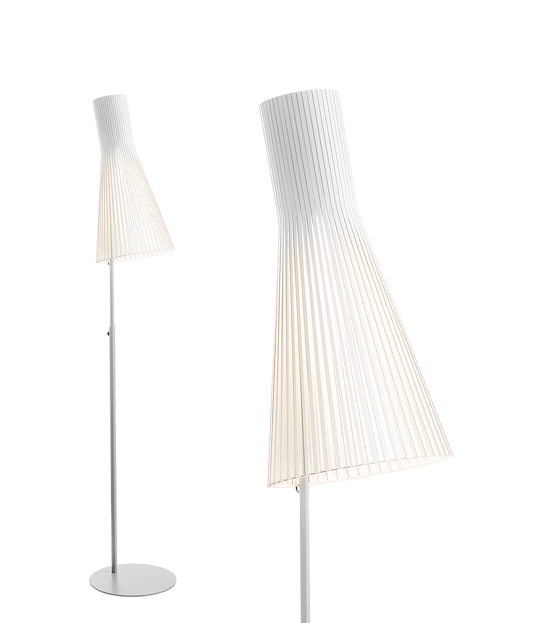 Secto 4210 floor lamp color white