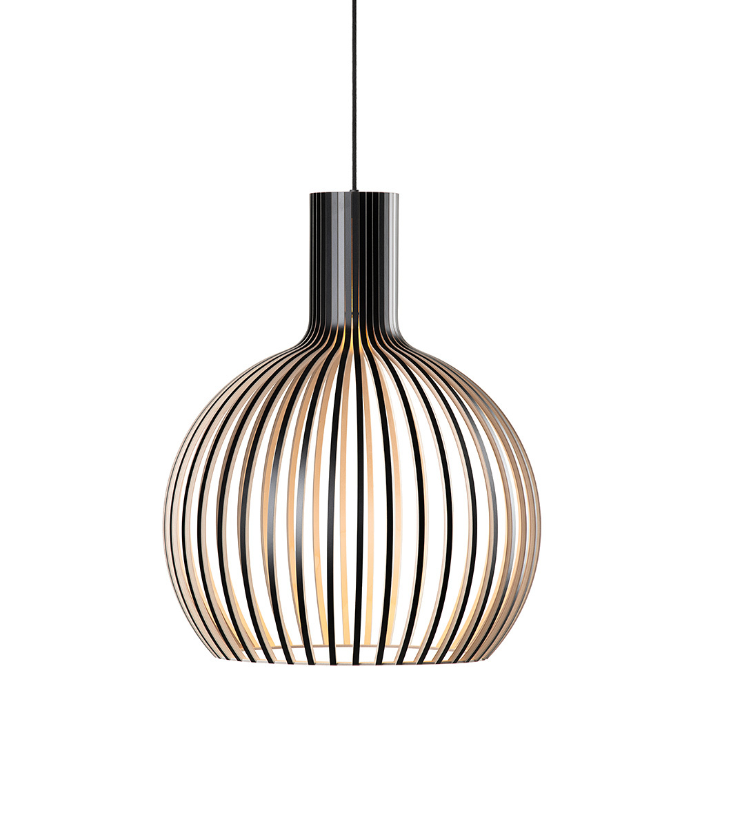 Octo Small 4241 pendant lamp color black