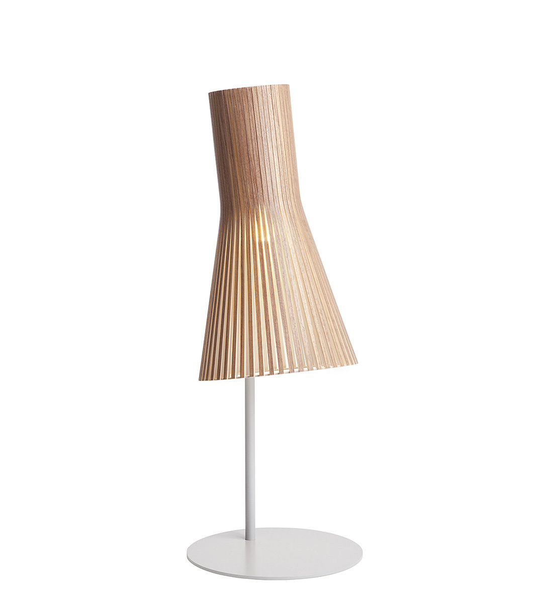 Secto 4220 table lamp color walnut