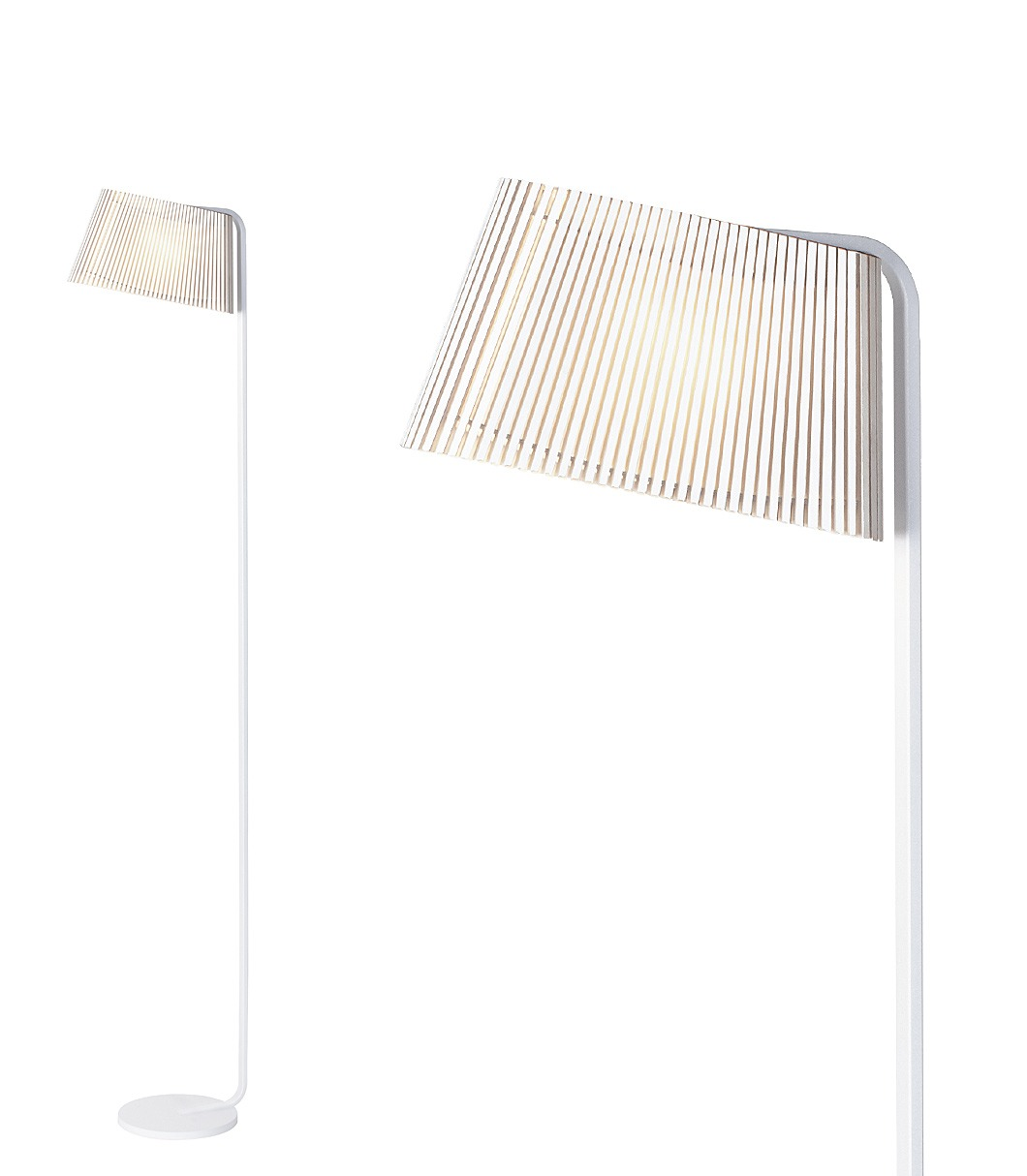 Owalo 7010 floor lamp color white