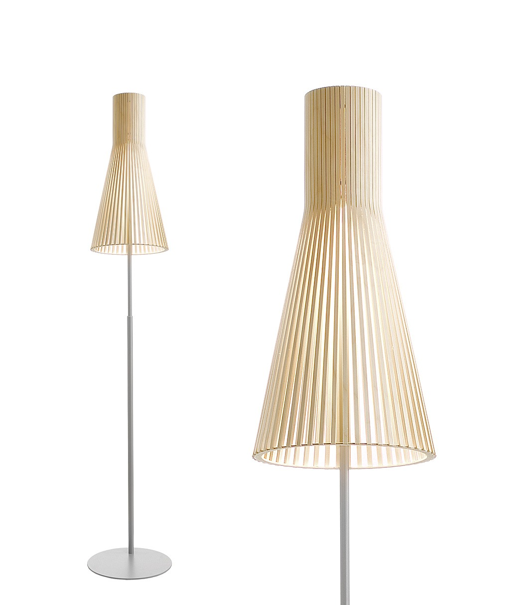 Secto 4210 floor lamp color birch