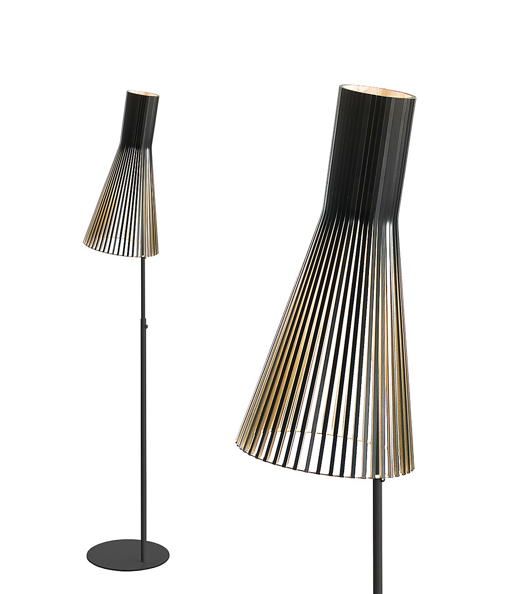 Secto 4210 floor lamp color black