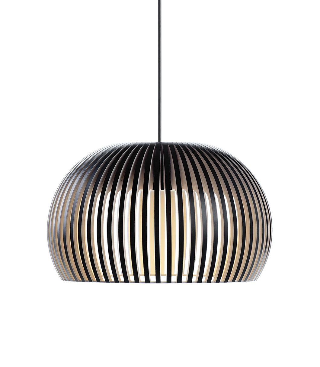 Atto 5000 pendant lamp color black