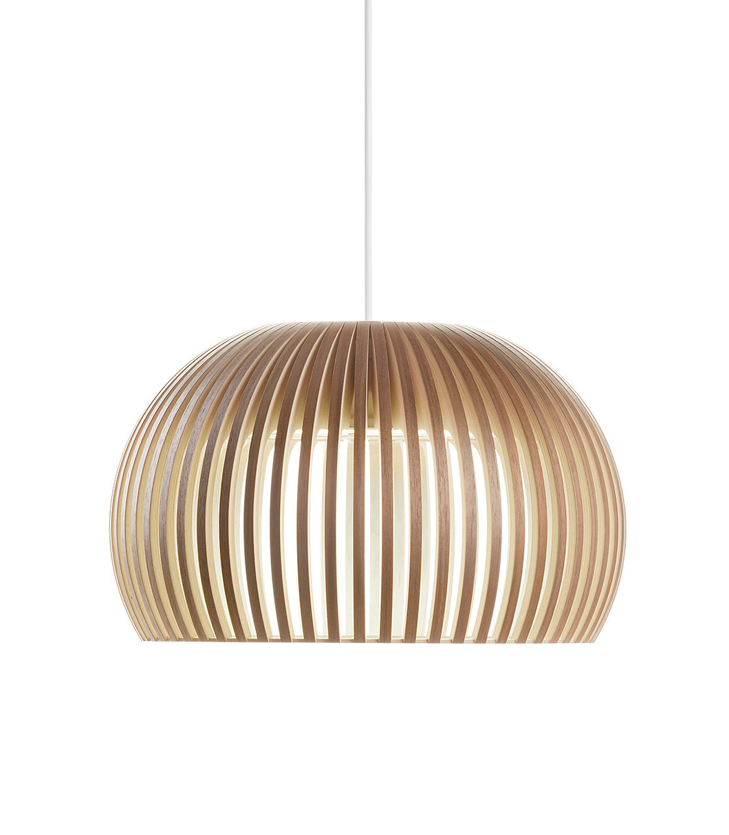 Atto 5000 pendant lamp color walnut