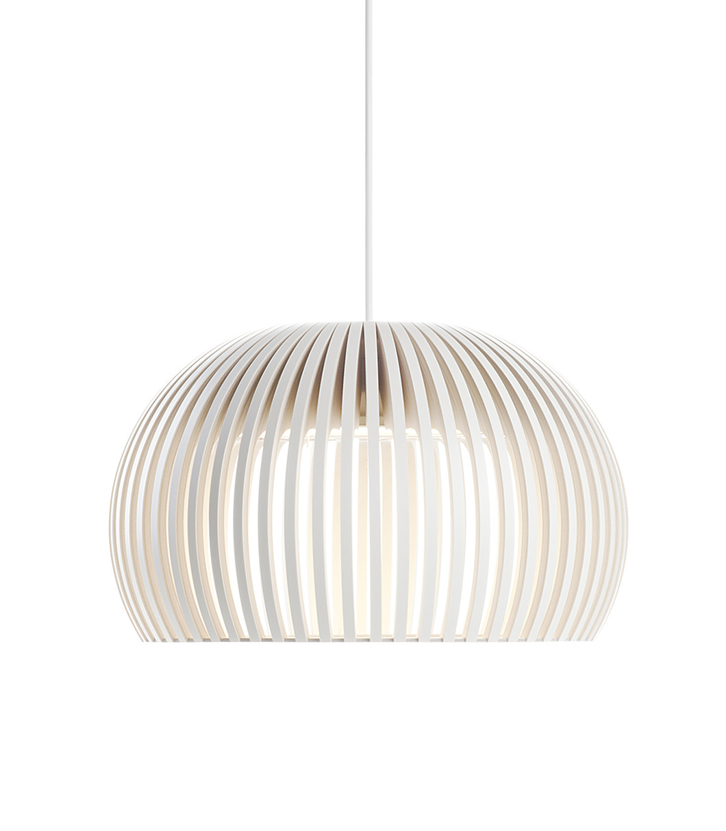 Atto 5000 pendant lamp color white