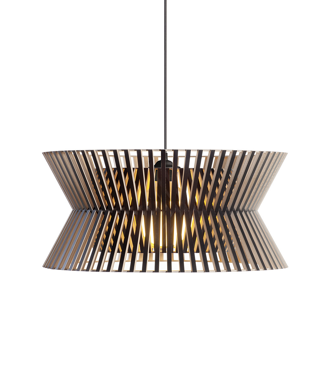 Kontro 6000 pendant lamp color black