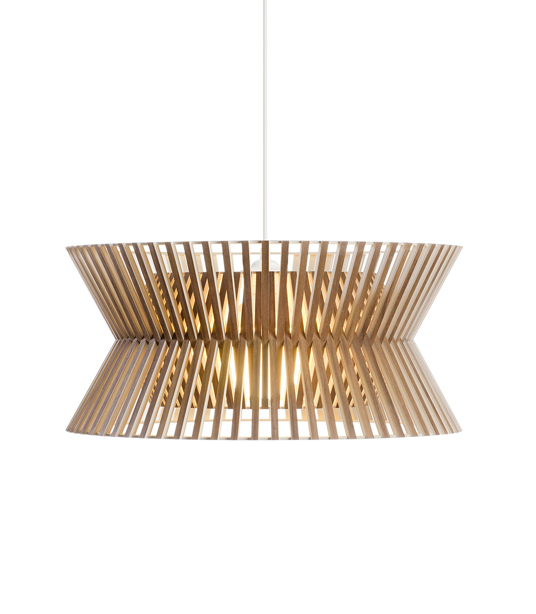 Kontro 6000 pendant lamp color walnut