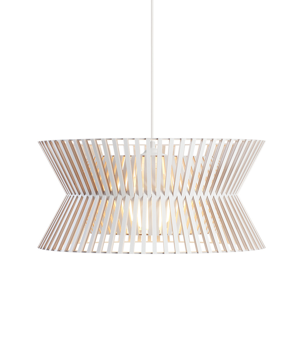 Kontro 6000 pendant lamp color white