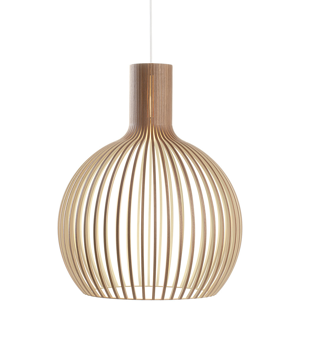 Hedendaags Octo 4240 wooden modern pendant lamp Secto Design   Secto Design DD-73
