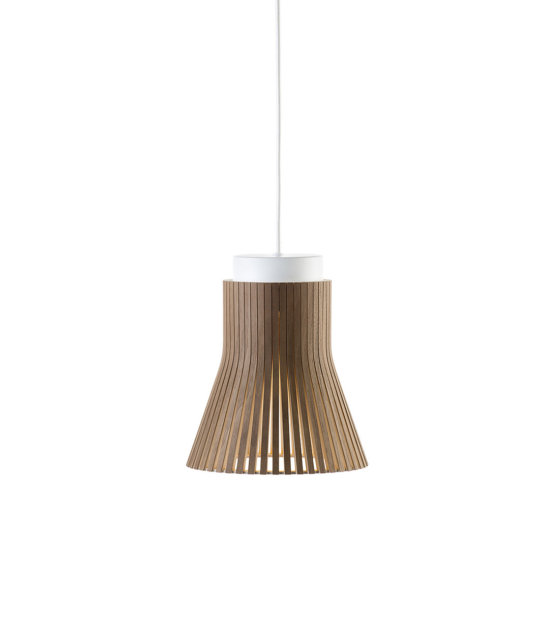 Petite 4600 pendant lamp color walnut