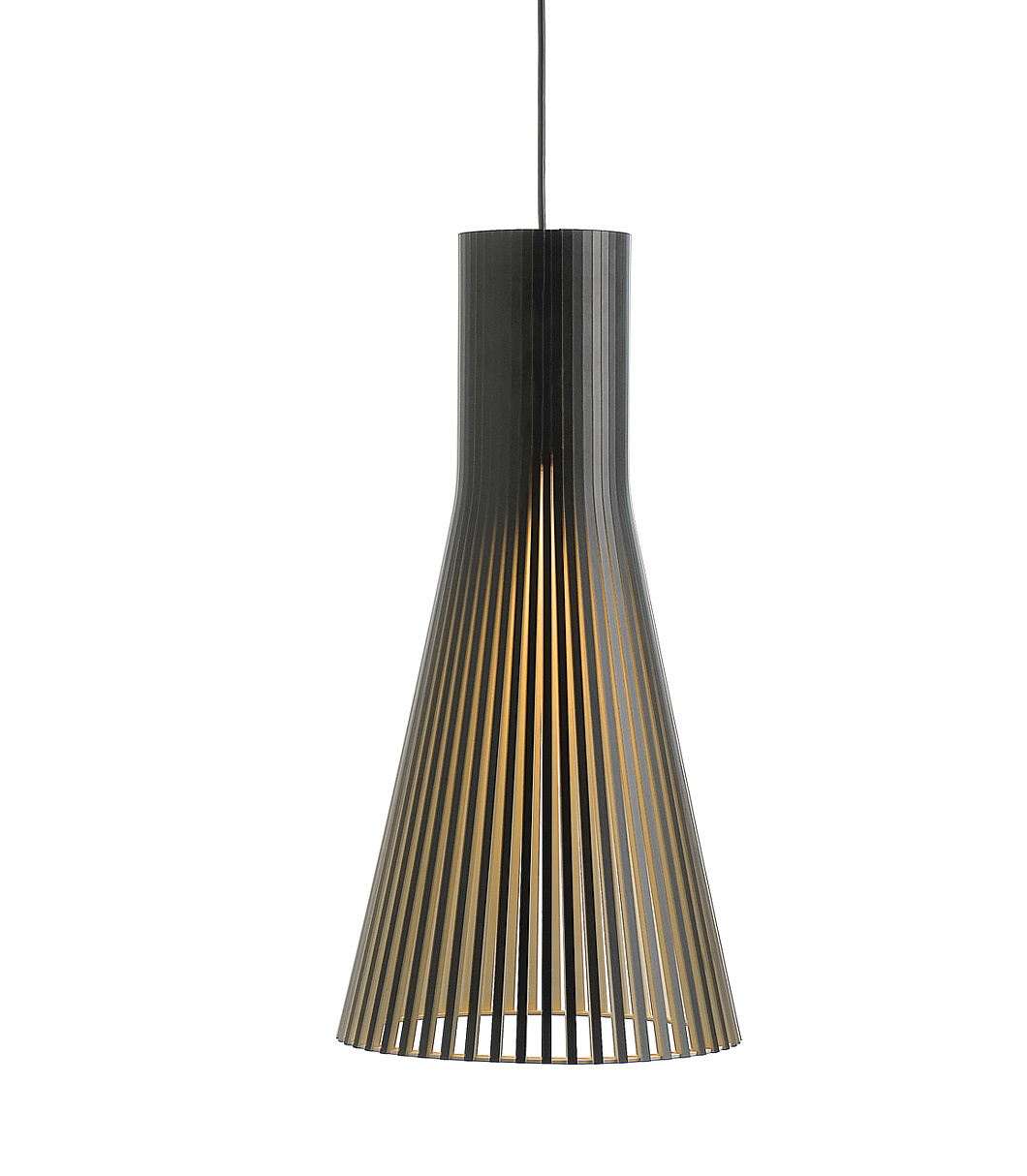 Secto 4200 pendant lamp color black