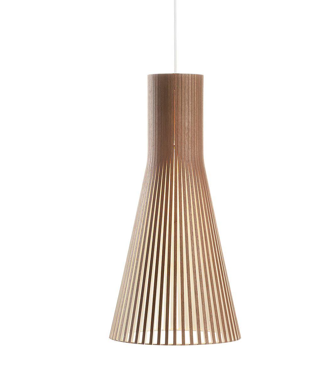 Secto 4200 pendant lamp color walnut