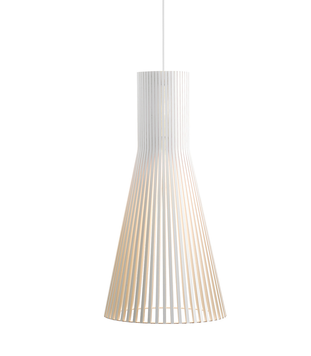 Secto 4200 pendant lamp color white