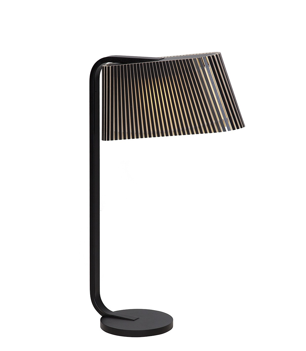 Owalo 7020 table lamp color black