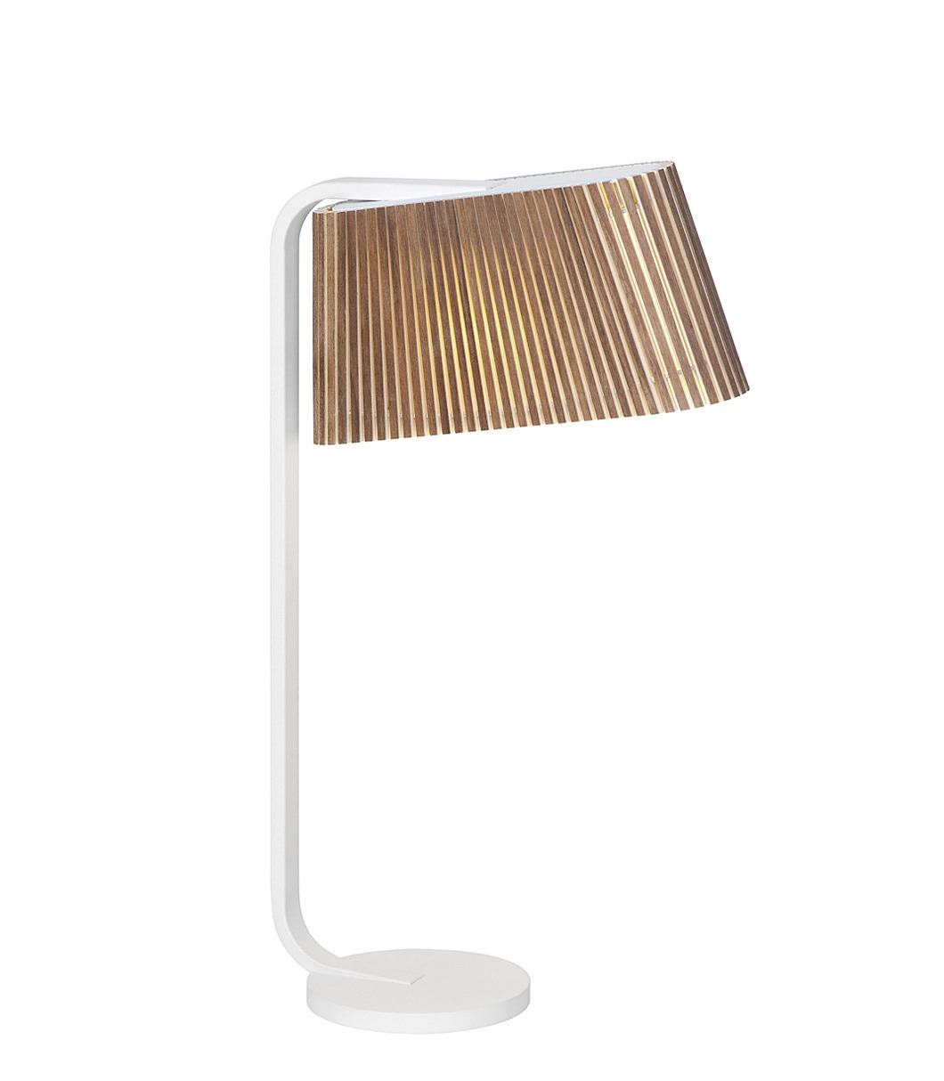 Owalo 7020 table lamp color walnut