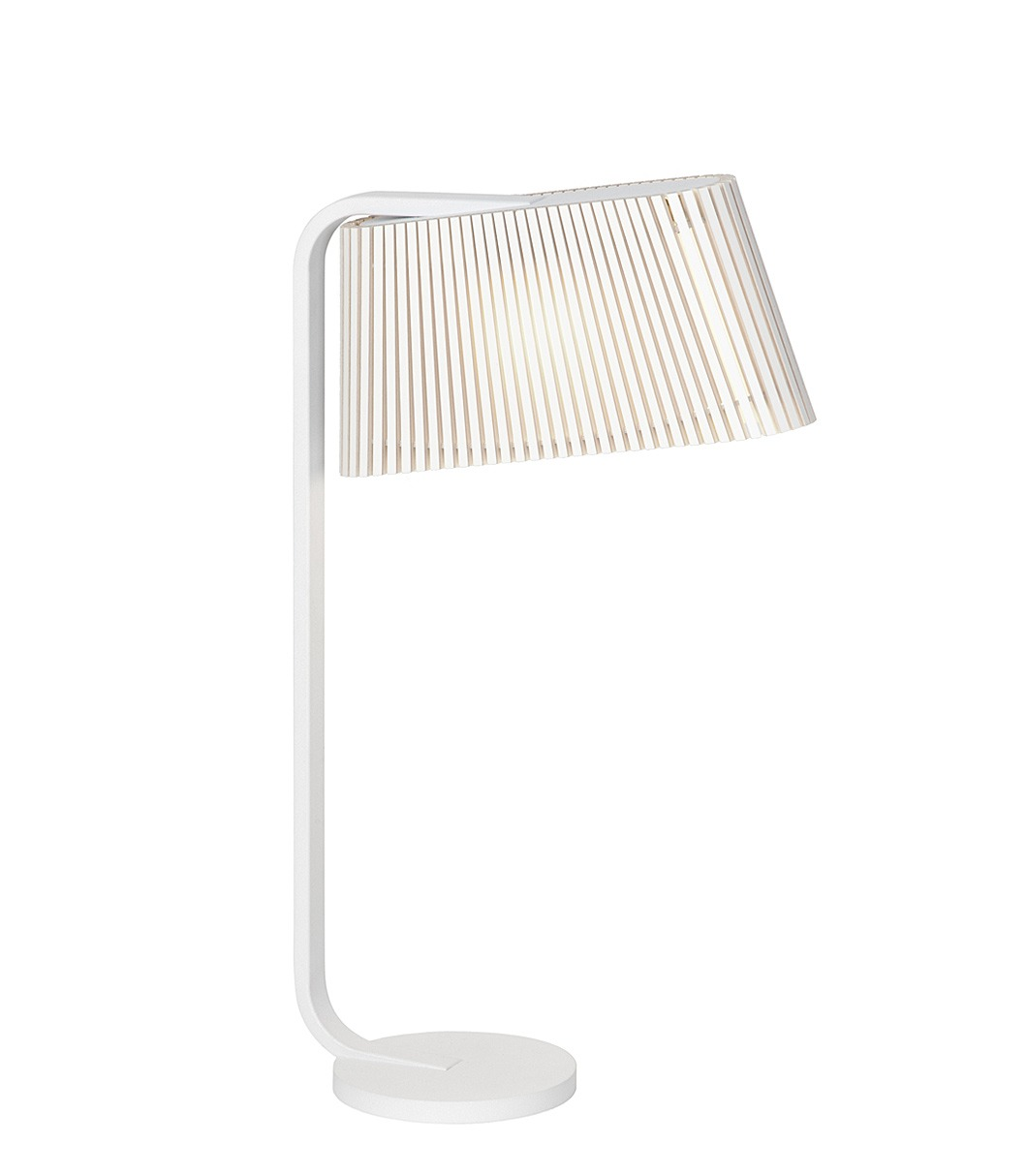 Owalo 7020 table lamp color white