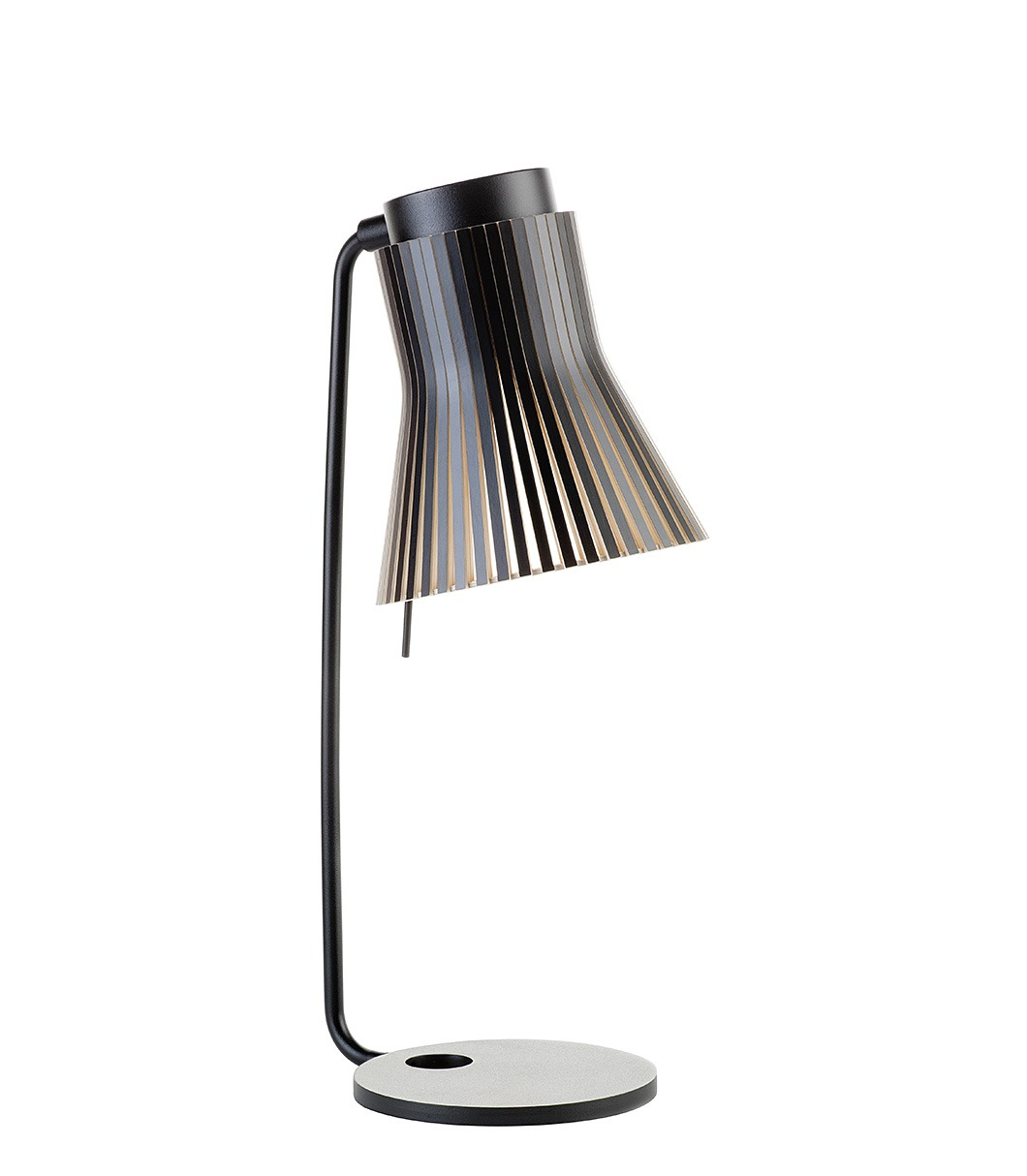 Petite 4620 table lamp color black