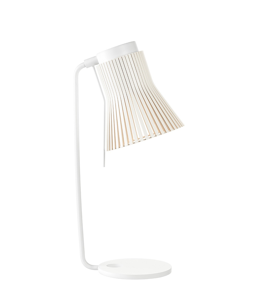 Petite 4620 table lamp color white