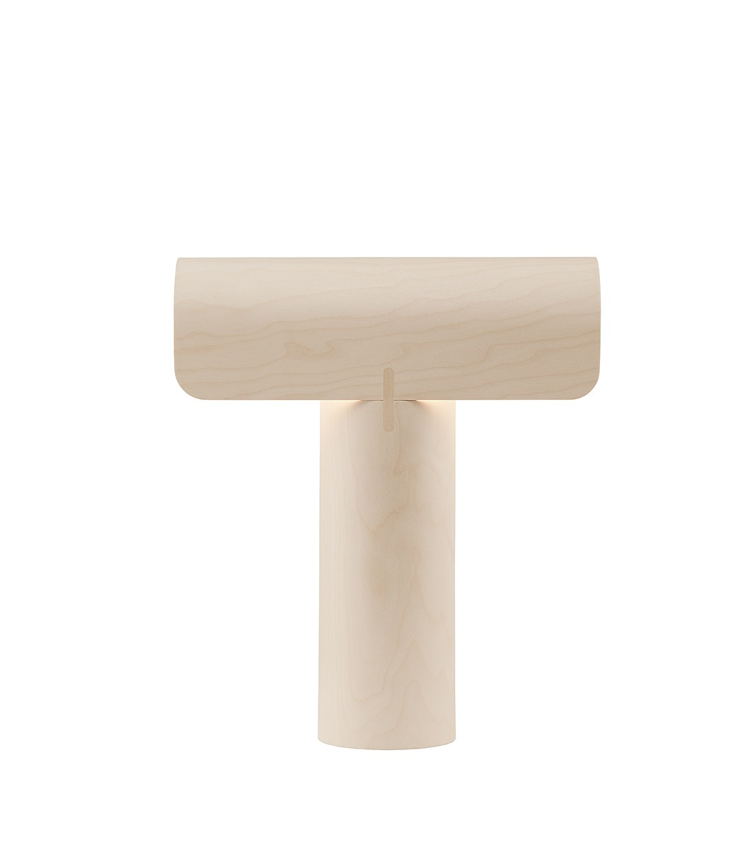 Teelo 8020 table lamp color birch