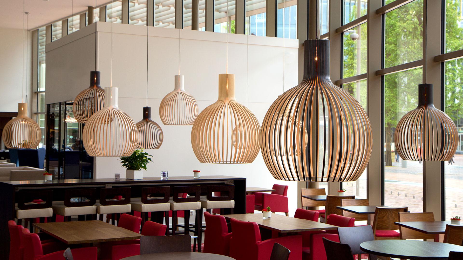 Welp Octo 4240 wooden modern pendant lamp Secto Design | Secto Design IV-99