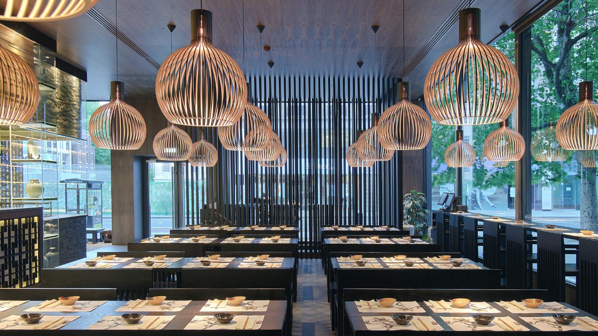 Verrassend Octo 4240 wooden modern pendant lamp Secto Design | Secto Design GM-65